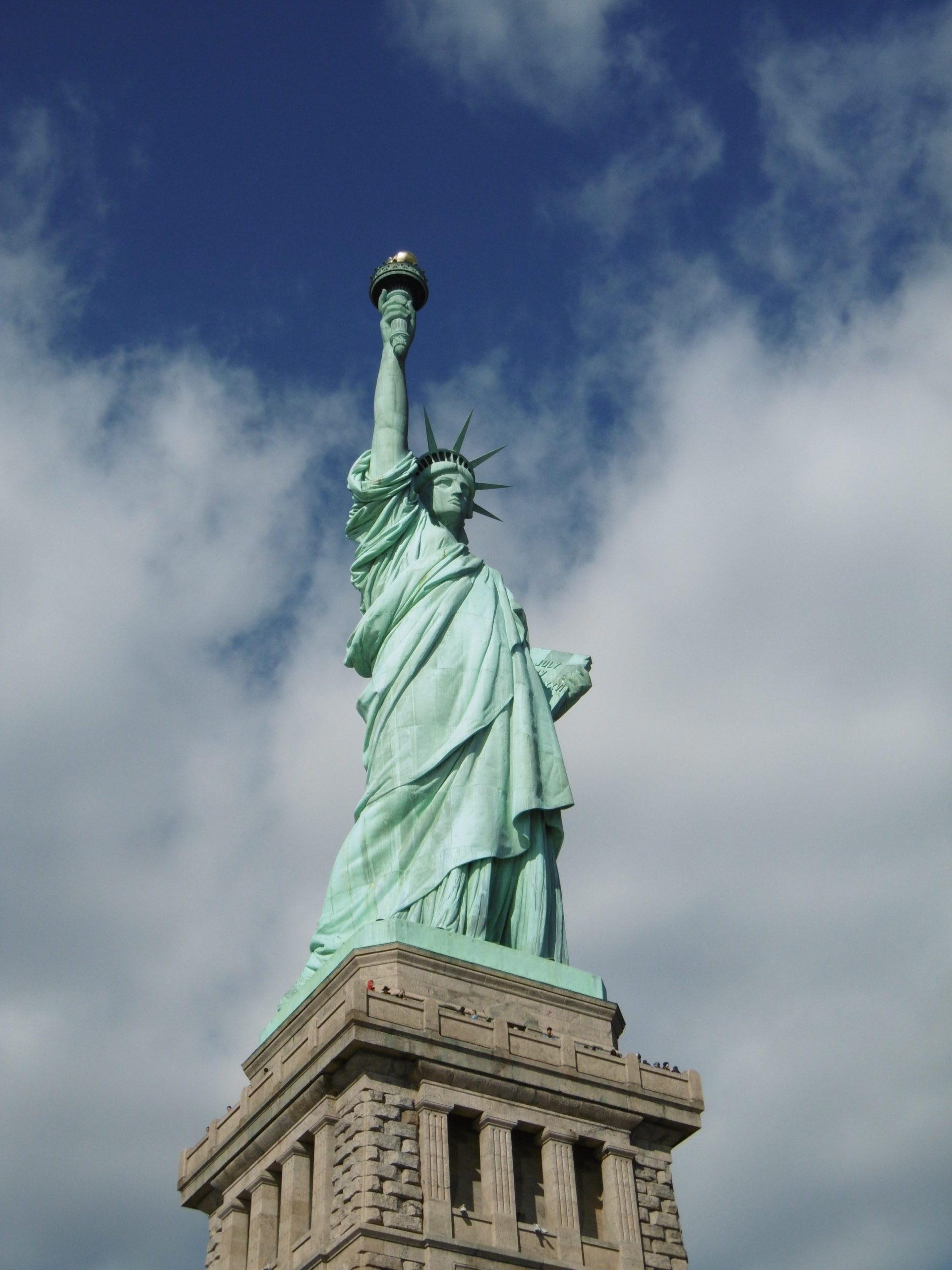 自由も女神像